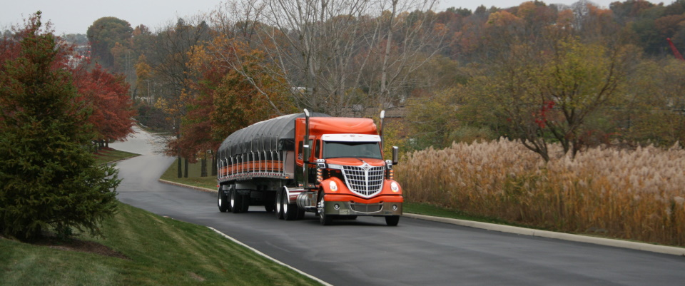 Kaplan Trucking Company offers dependable, flatbed trucking